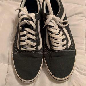 Grey Vans Lace-up Sneakers